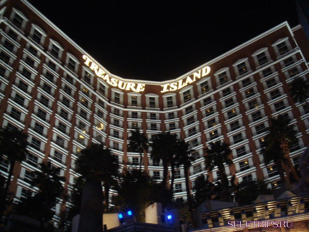 Hotel-casino treasure Island
