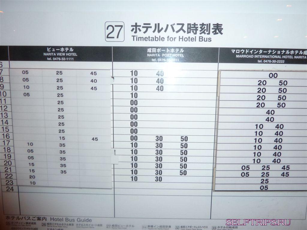 В погоне за сакурой: День 1, Хабаровск - Токио (Нарита)