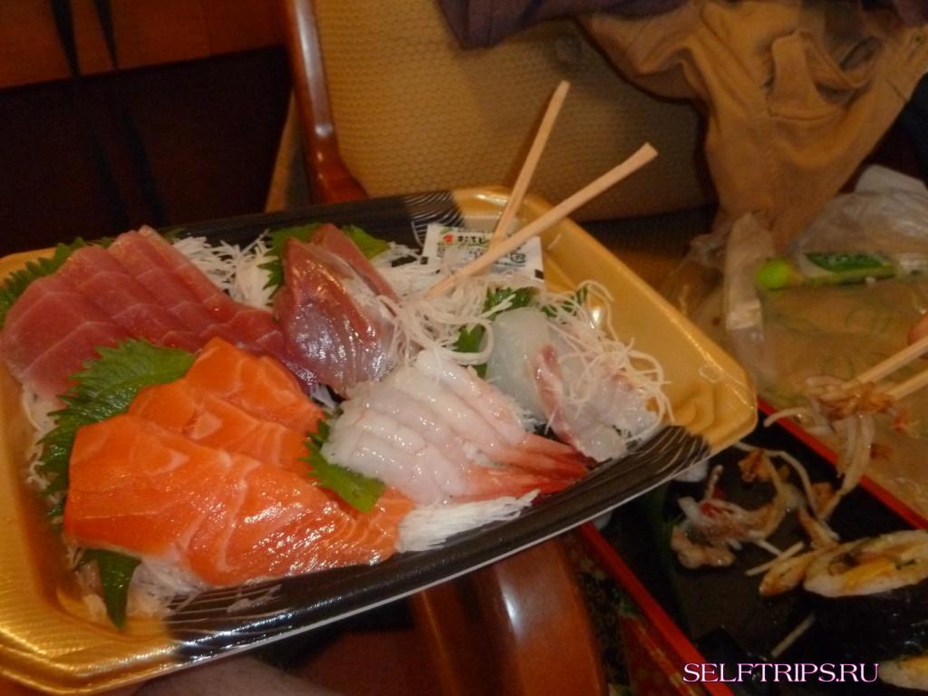 В погоне за сакурой: День 3, Осака