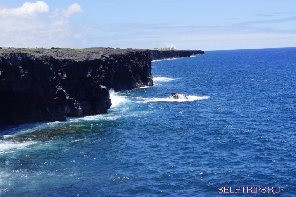 Хило - Вулканический парк - Мауна-Кеа - водопад Рейнбоу - водопад Акака - Хило. Большие Гавайи.
