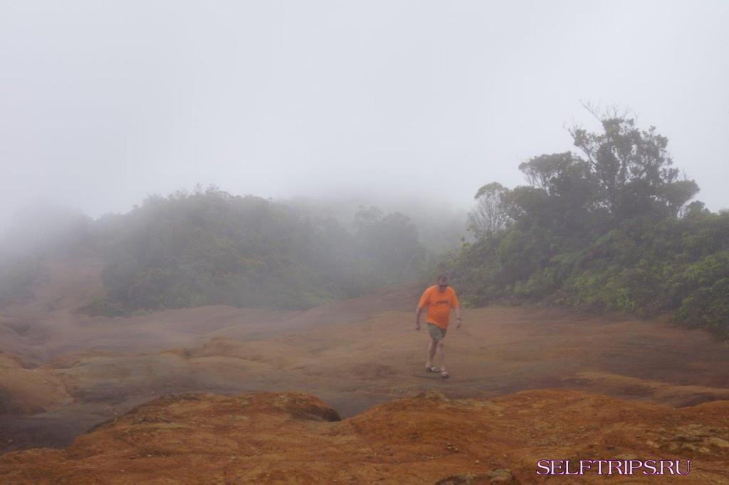 Остров Кауи. Na Pali Coast, вид сбоку.