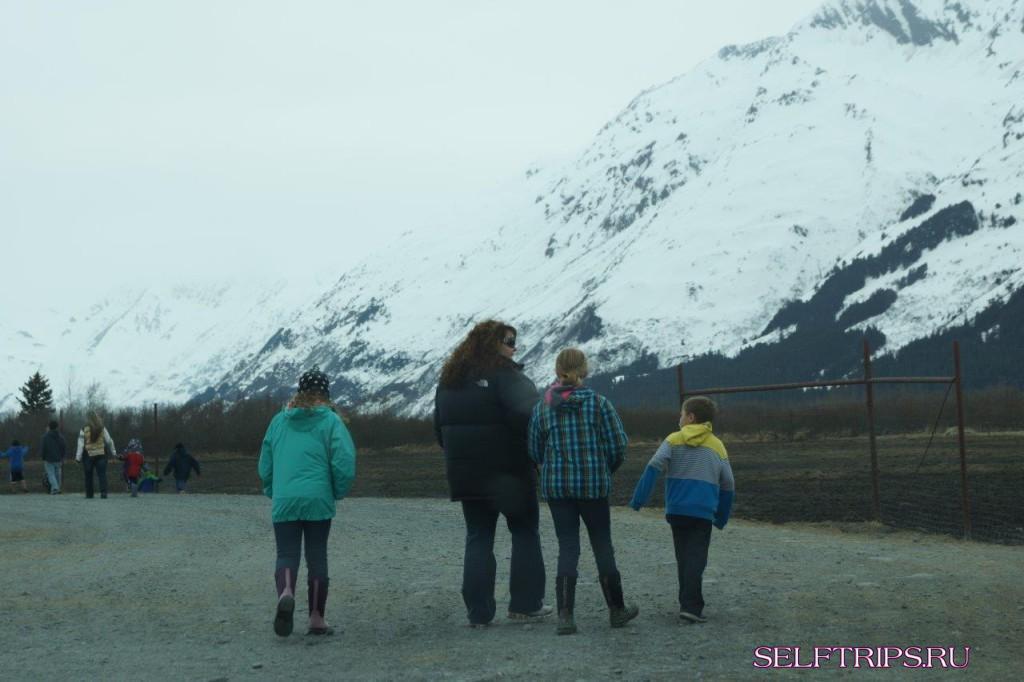 Полукругосветка: День 15, Мы на Аляске!
