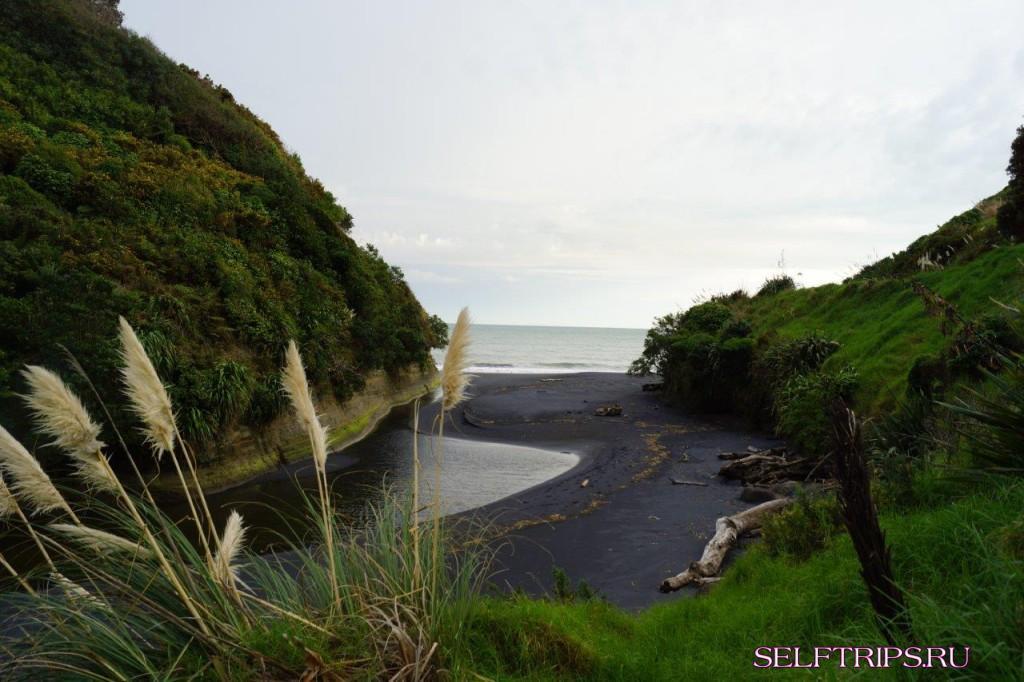 Полукругосветка: День 24, перегон в город Велингтон и неудача с вулканом Taranaki :(