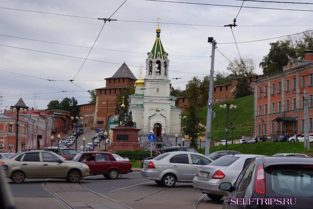 Казань – Нижний Новгород – Иваново.