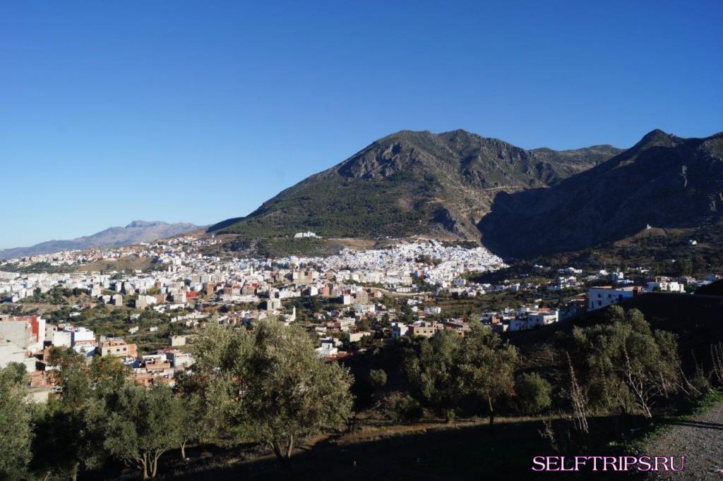 Шефшауэн - Тетуан, Марокко – Сеута, Испания - паром до Альхесирас – Ронда.