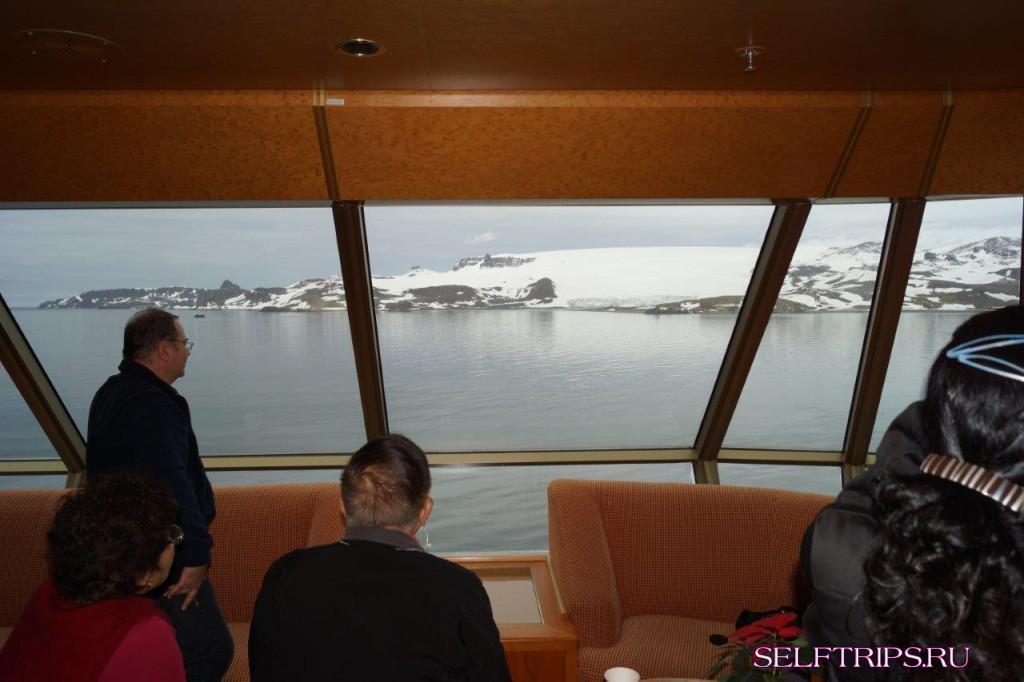 Антарктика. Острова Короля Георгия и Обмана.