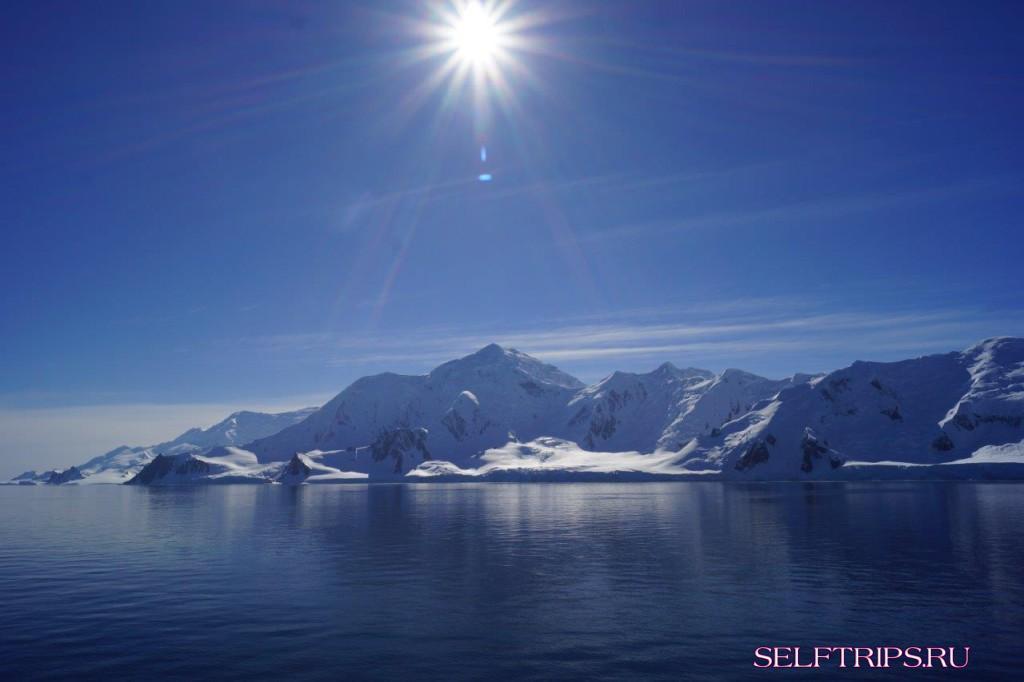 Берега Антарктиды