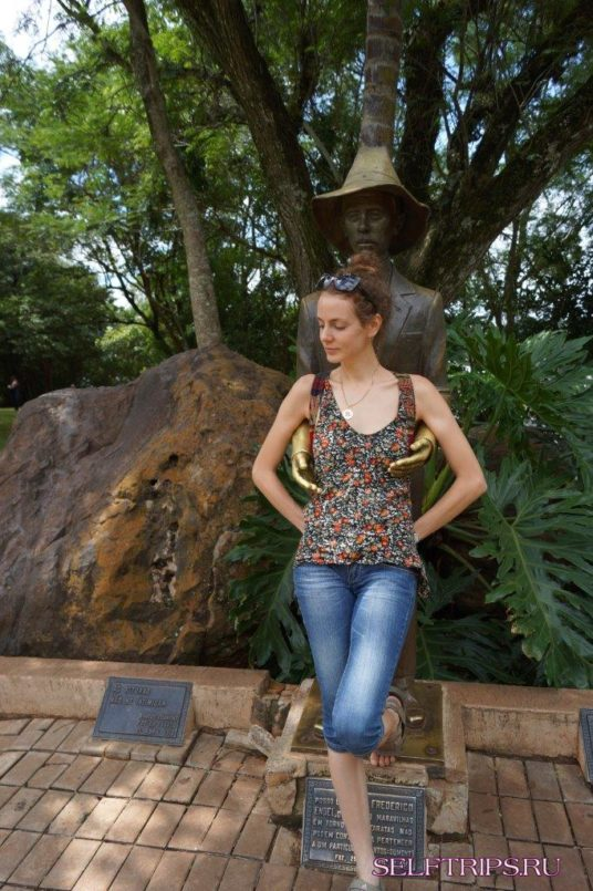 Игуасу. Бразилия