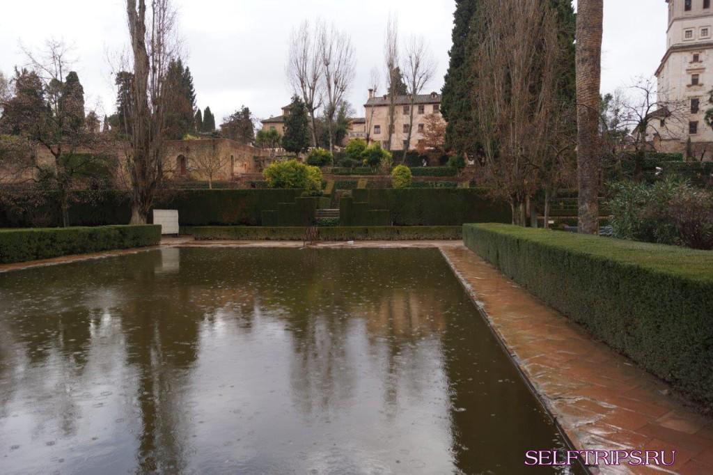 Альгамбра и Хенералифе, Гранада.