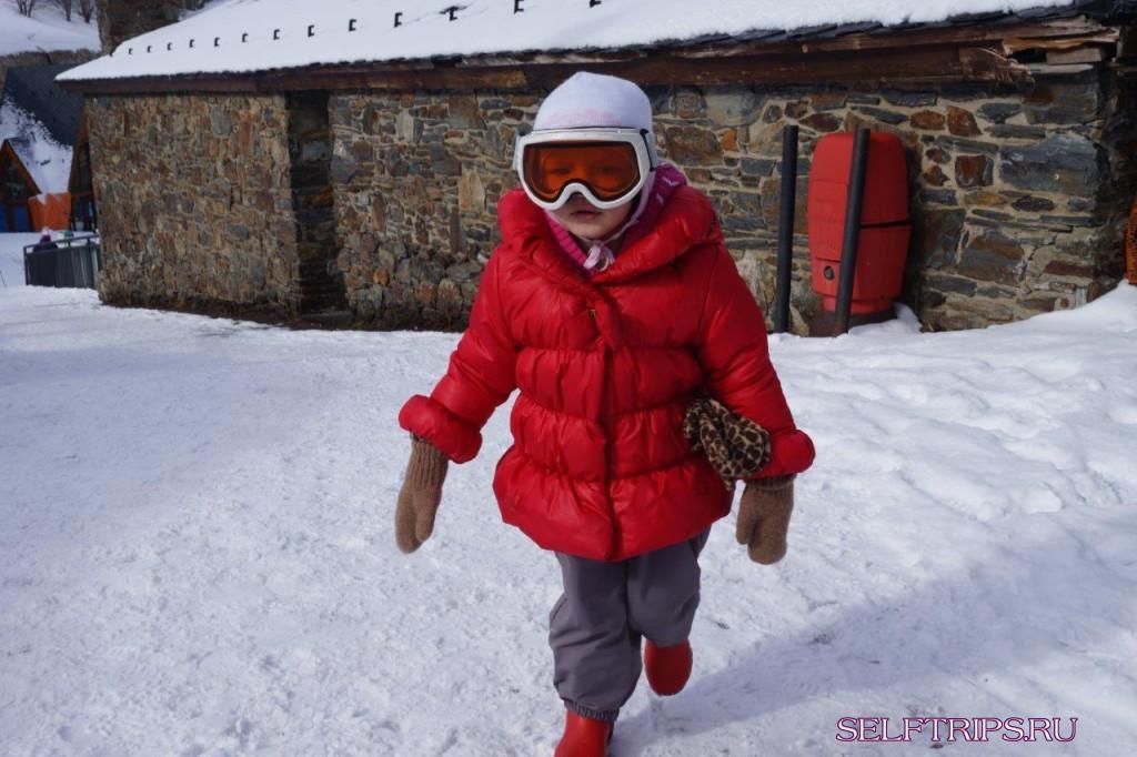 В Европу на машине!!: День 136 горнолыжные трассы Андорры!