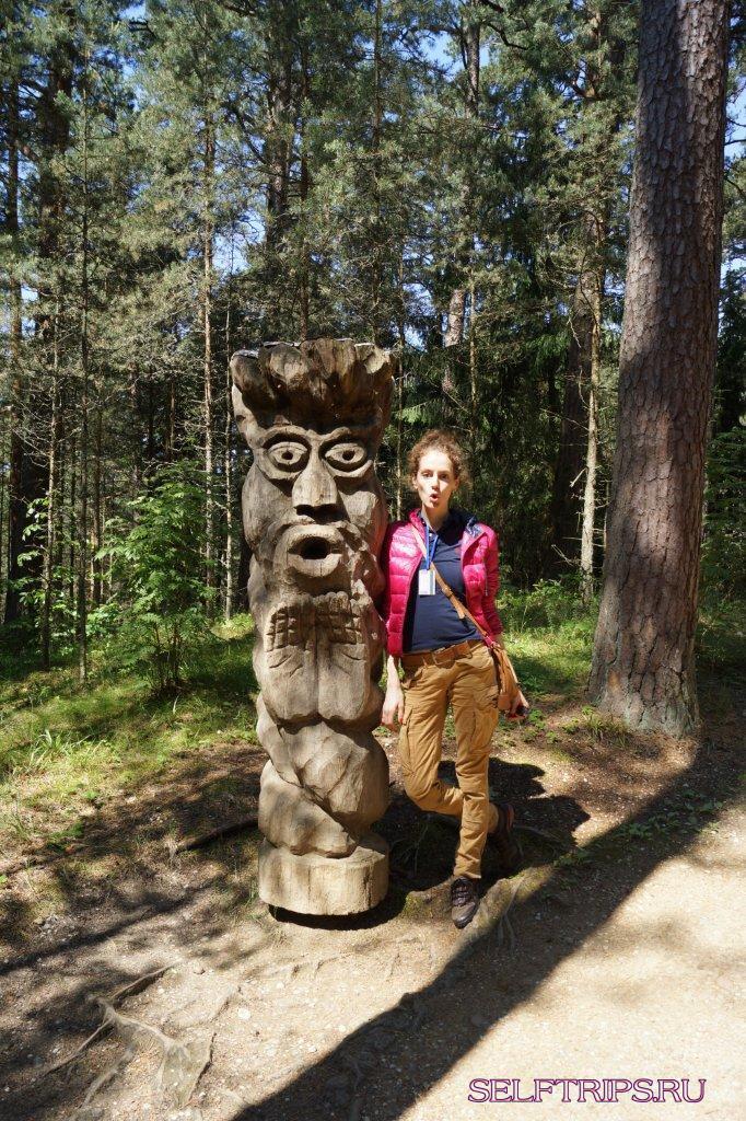 Большое северное путешествие!: День 6, Куршская коса со стороны Литвы, г. Клайпеда - Литва