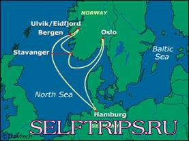 Стокгольм, Швеция - Гамбург, Германия. Посадка на второй круиз Costa Mediterranea по норвежским фьордам.