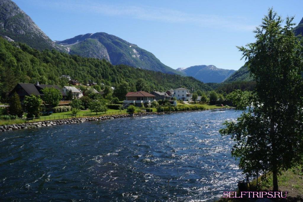 Большое северное путешествие!: День 15, Эйдфьорд, Норвегия!