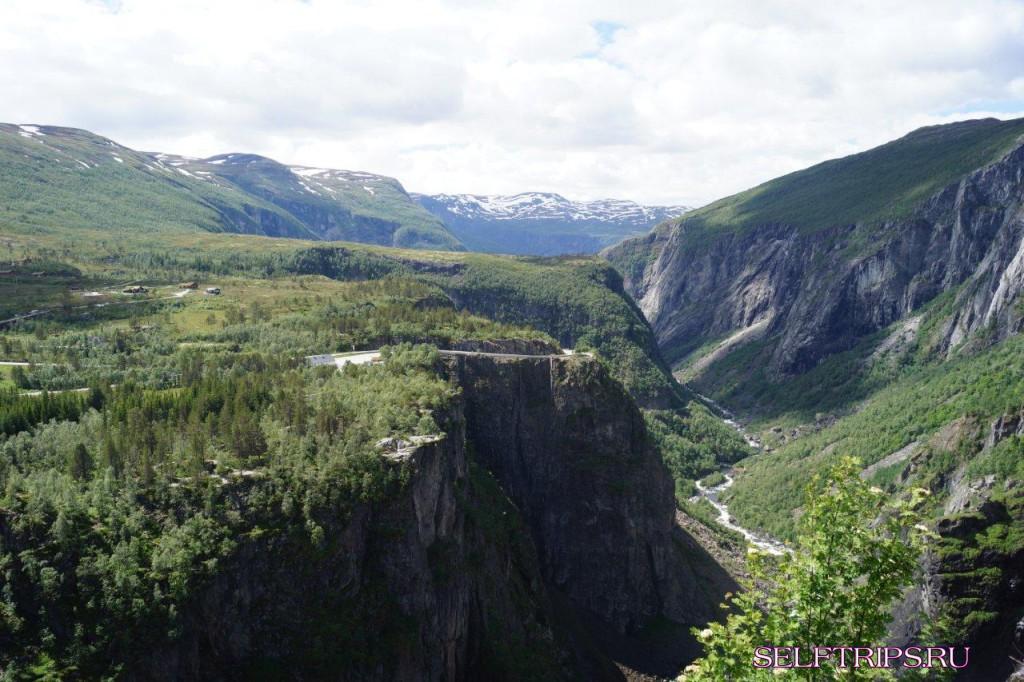 Большое северное путешествие!!: День 22, Долина Husedalen, водопады!