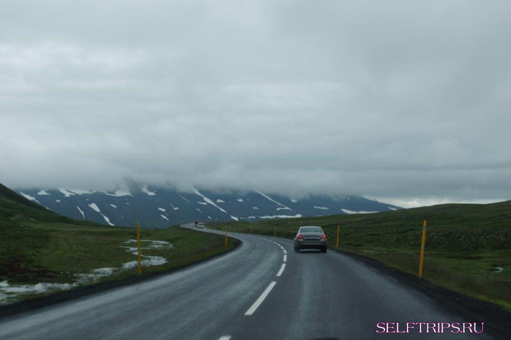Akureyri, Исландия.