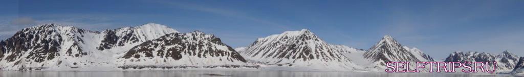 Нью-Олесунн - Лонгьир, Шпицберген, Арктика.