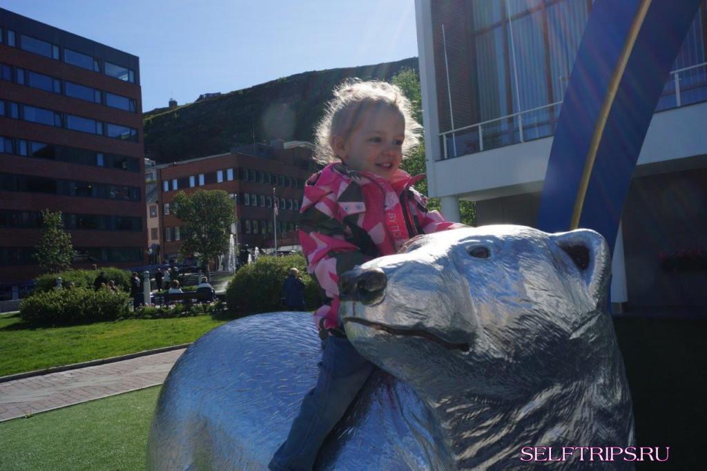 Большое северное путешествие!!: День 35, север Норвегии, Хаммерфест
