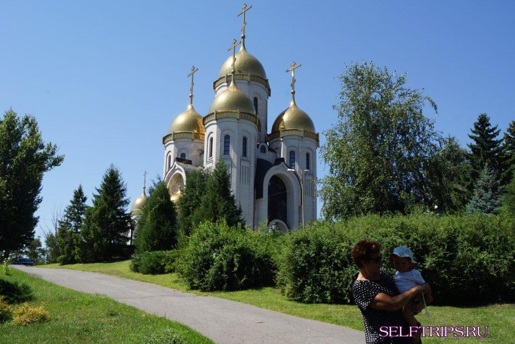 Church of All Saints  Mamayev Kurgan