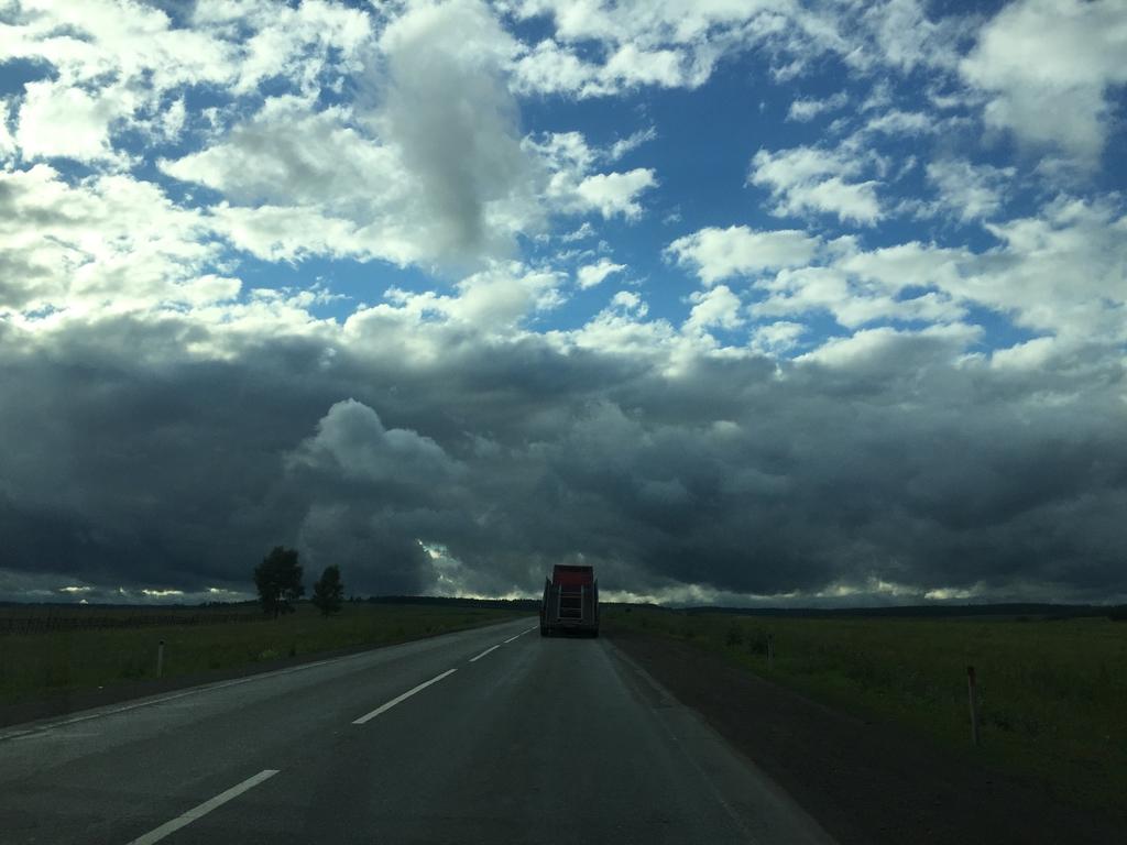 День 4: Уфа - Сызрань 600 км, В Европу на машине-2