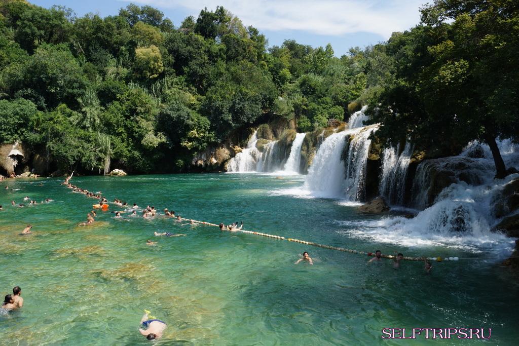 День 40: Национальный парк Крка в Хорватии! В Европу на машине-2