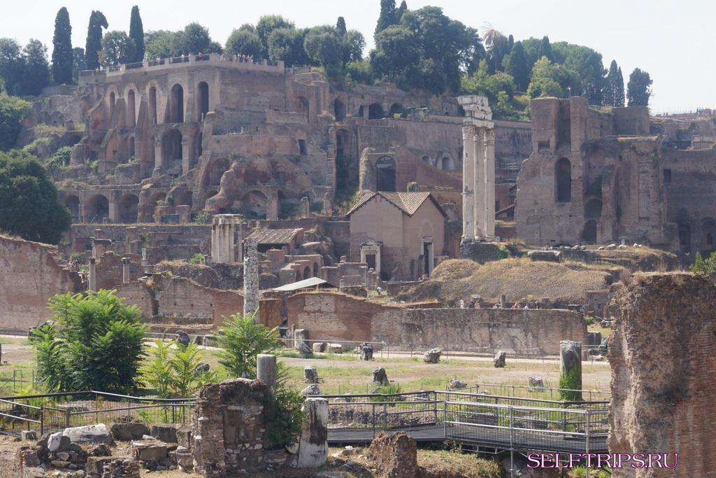 Достопримечательности Рима за один день.