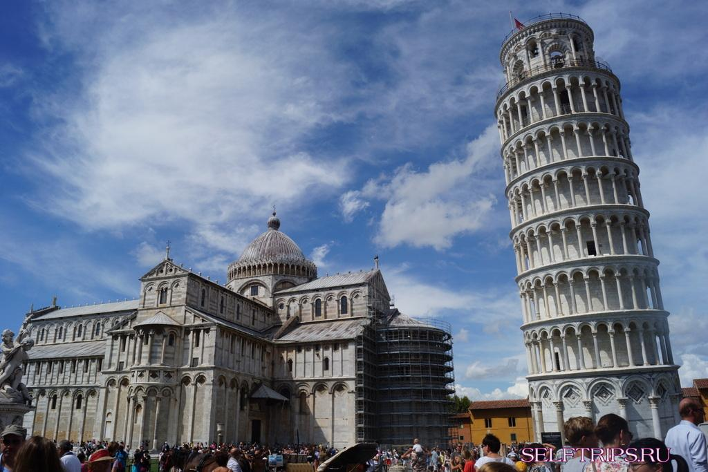 День 47: Пизанская башня и чудесное место Чинкве-Терре! В Европу на машине-2