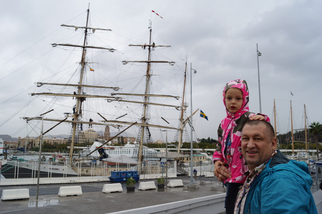 Малага, Испания. Алешке 1 год!