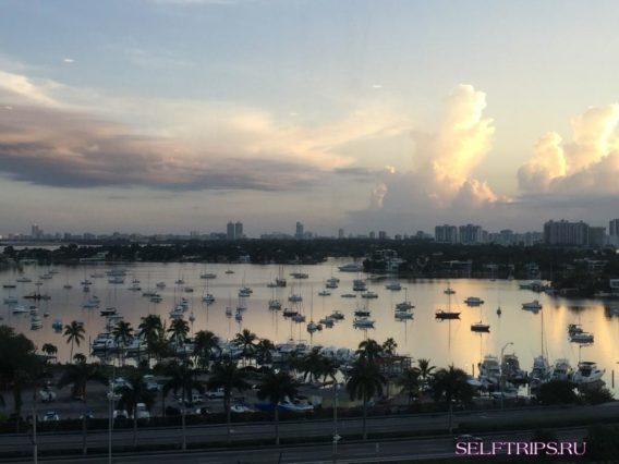 Майами. Высадка с MSC Divina.