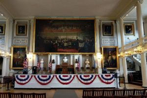 Faneuil Hall inside