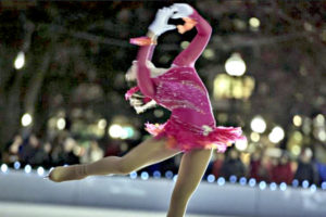 Free figure skating show