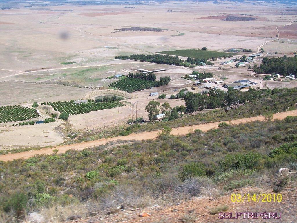 Из ЮАР в Намибию, регион Седерберг.