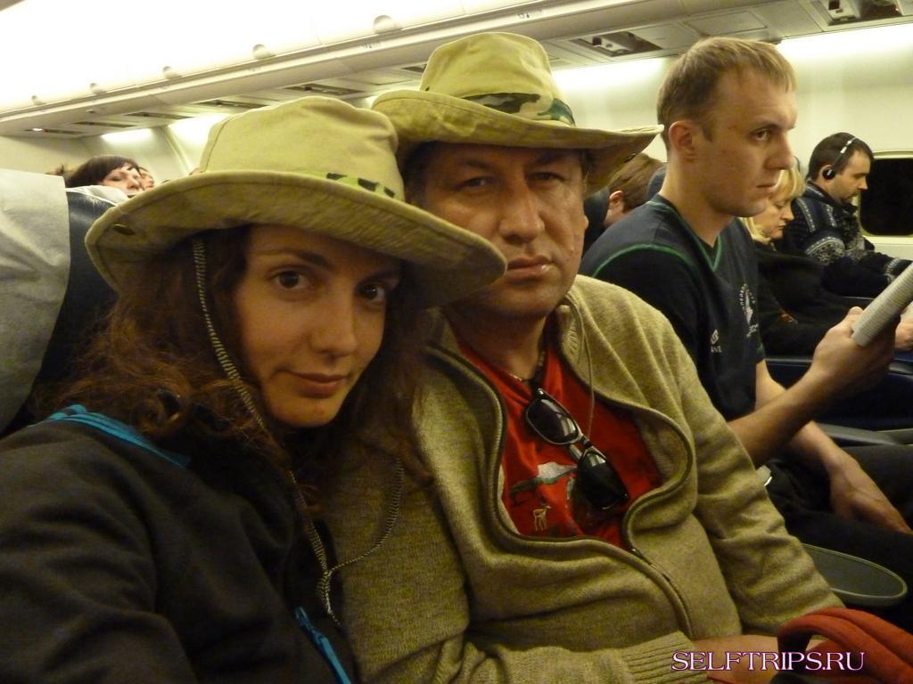 Перелет: Антанариву - Найроби - Дубай - Москва - Новосибирск