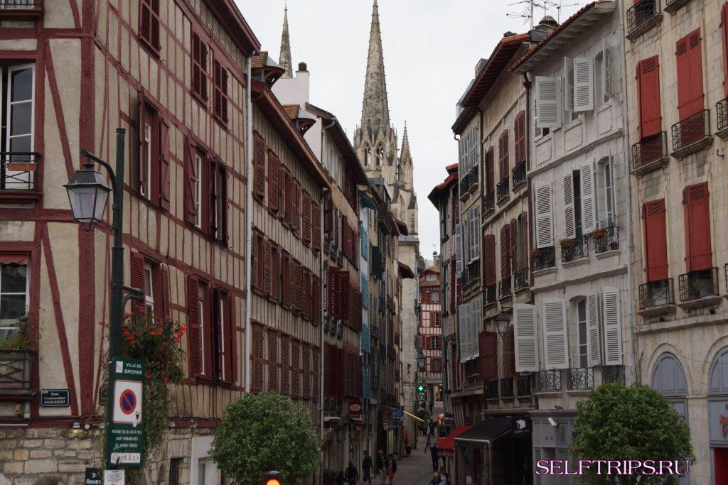 Байонна - страна басков во Франции и Гасконь