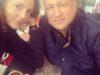 In a cafe on the Boulevard Las Ramblas