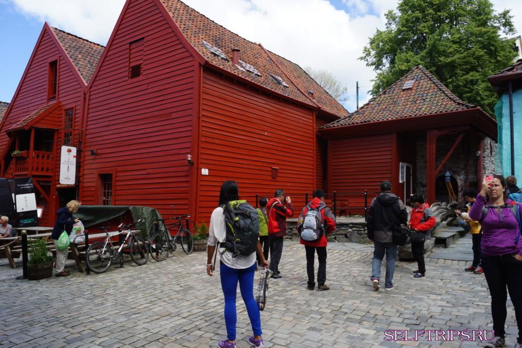 Берген, Норвегия. Изобилие рыбных деликатесов