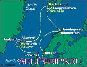 Посадка на круиз по Исландии и Шпицбергену
