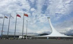 Факел. Олимпийский парк.