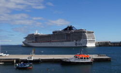 Cruise ship.Funchal