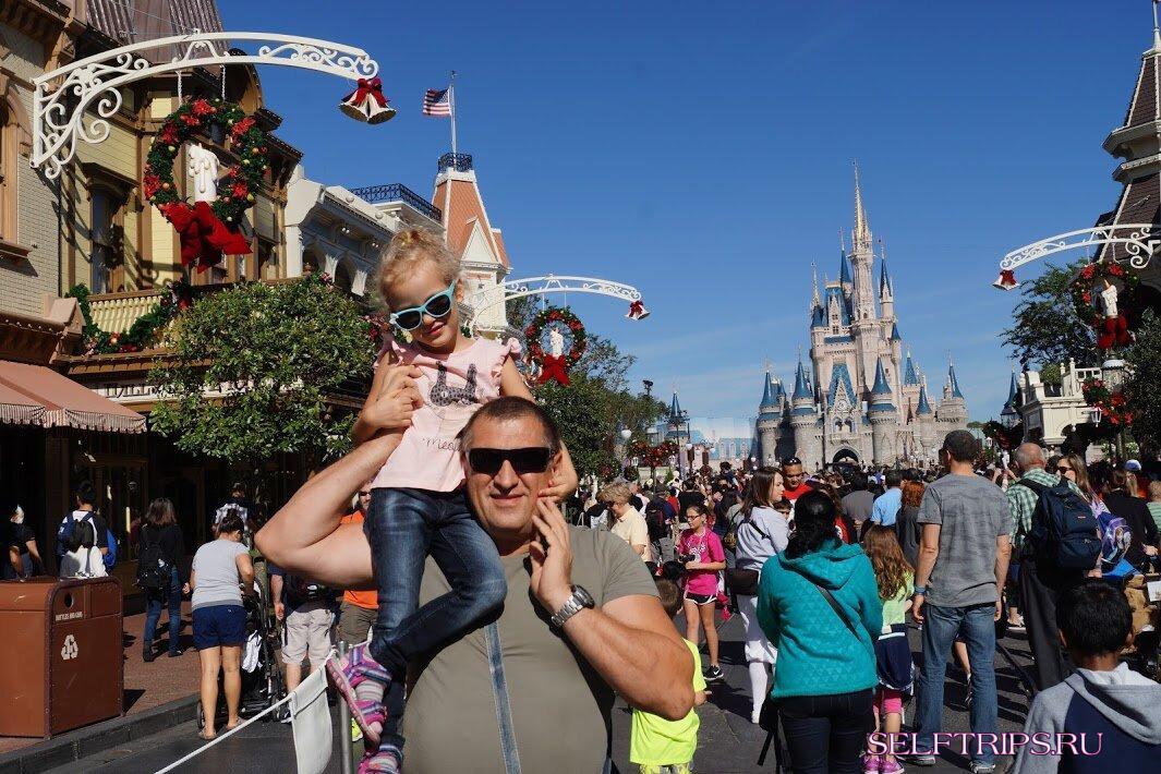 Диснейленд Disney World в США. Сколько стоит туда попасть?