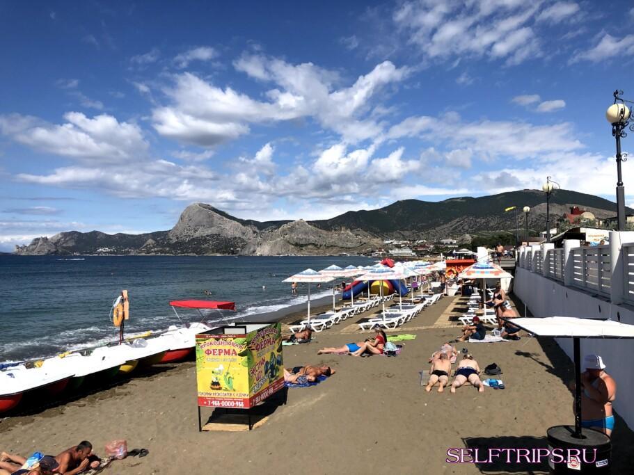 Дневник путешествия в Крым: пляжи Судака и Тропа Голицына в Новом Свете