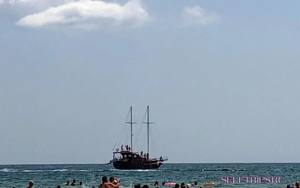 Болгарское разводилово на пиратском кораблике Sun & Fun