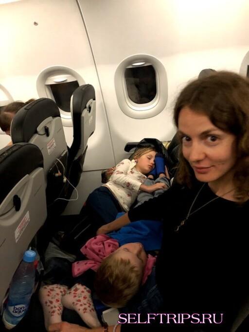 Приступ клаустрофобии на борту самолета